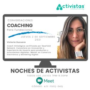 crear fundacion evento coaching