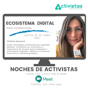 crear fundacion ecosistema digital evento