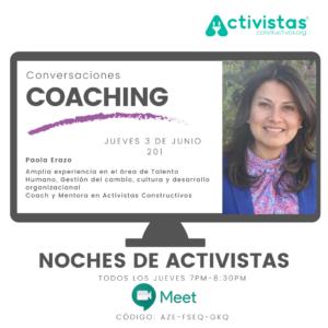 crear fundacion coaching evento
