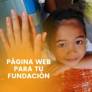 crear fundacion pagina web